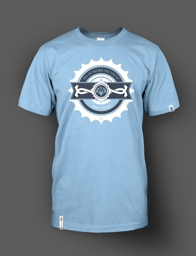 416 Wear - Work light blue