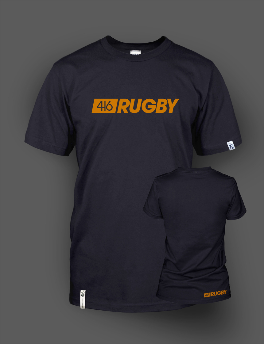 416 Rugby Line en deux coloris - Red et Orange