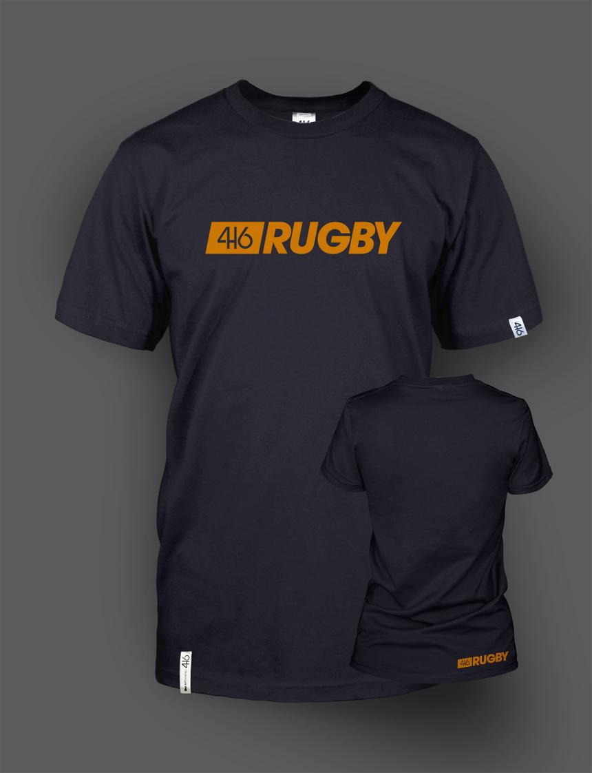 416 Rugby Line en deux coloris - Red et Orange