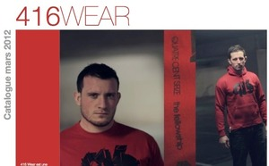 Le catalogue 416 wear / 416 Rugby 2012 - version de Juillet 2012 est disponible