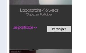 416 - Nouvelle application Facebook - Choisissez le coloris du futur modèle 416 WORK